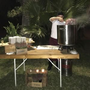 Show cooking de pulpo